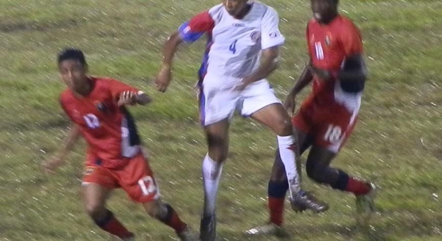 Costa Rica derroto a Belice y obtuvo el segundo lugar
